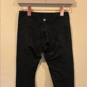 lululemon athletica Pants - Lululemon thick knit crop legging yoga